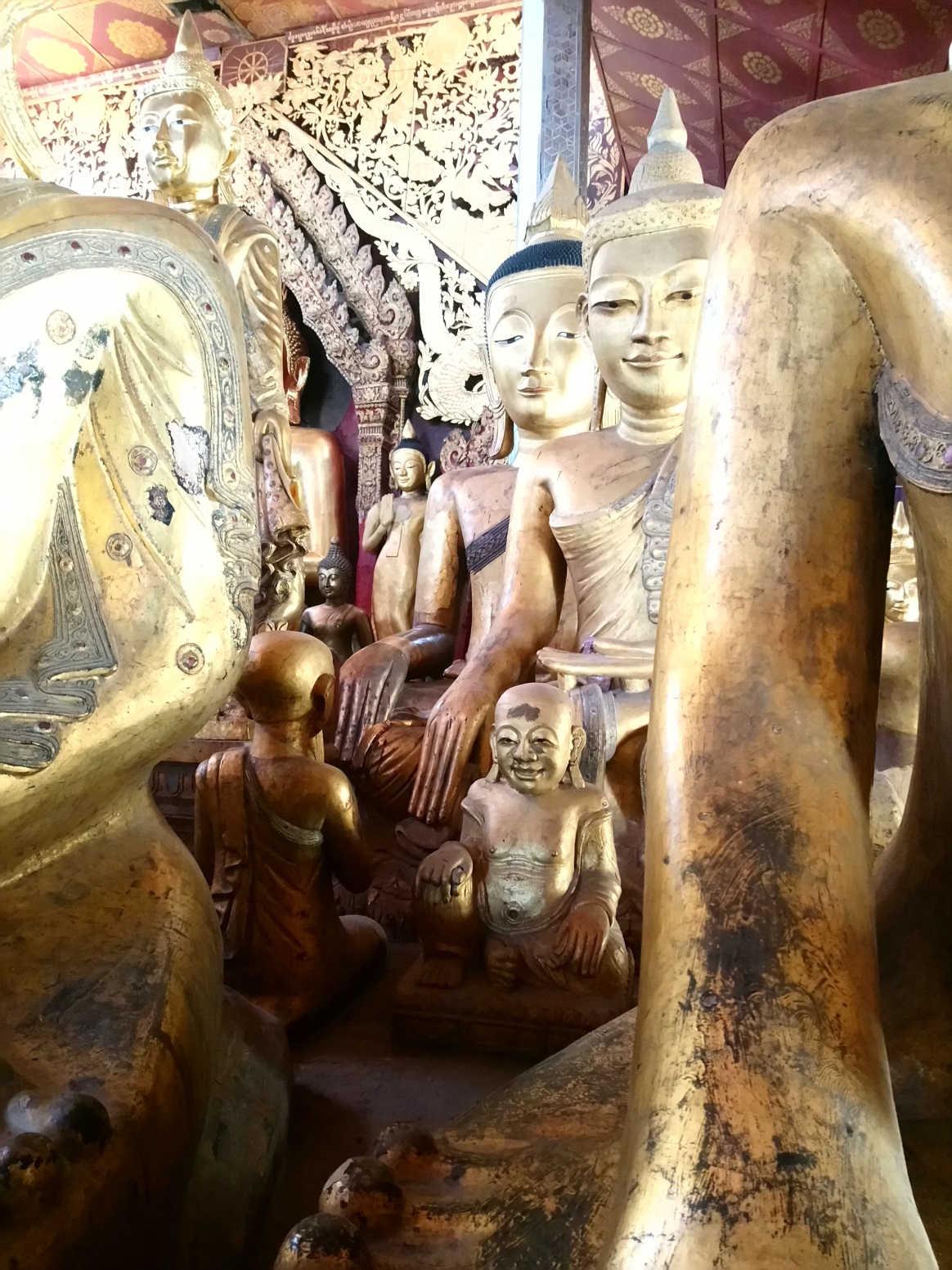 Im Wat Jong Kham Tempel